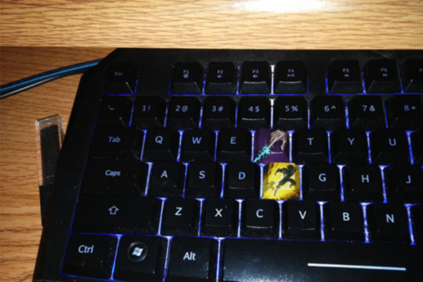 league of legends keyboard