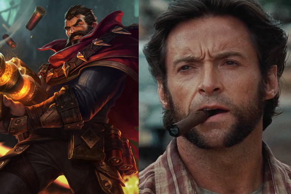 hugh jackman as grave league of legends movie