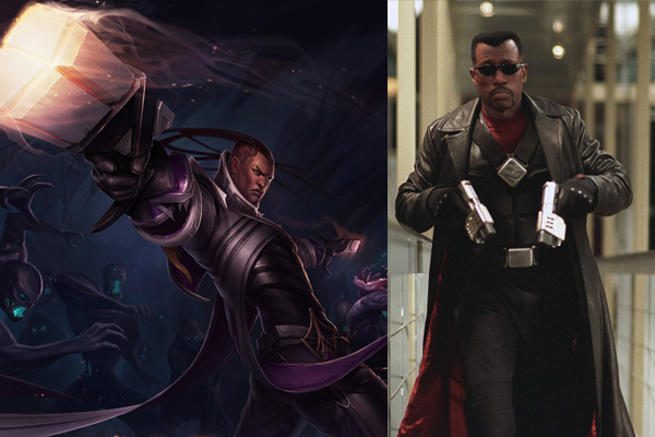 wesley snipes as lucian league of legends movie