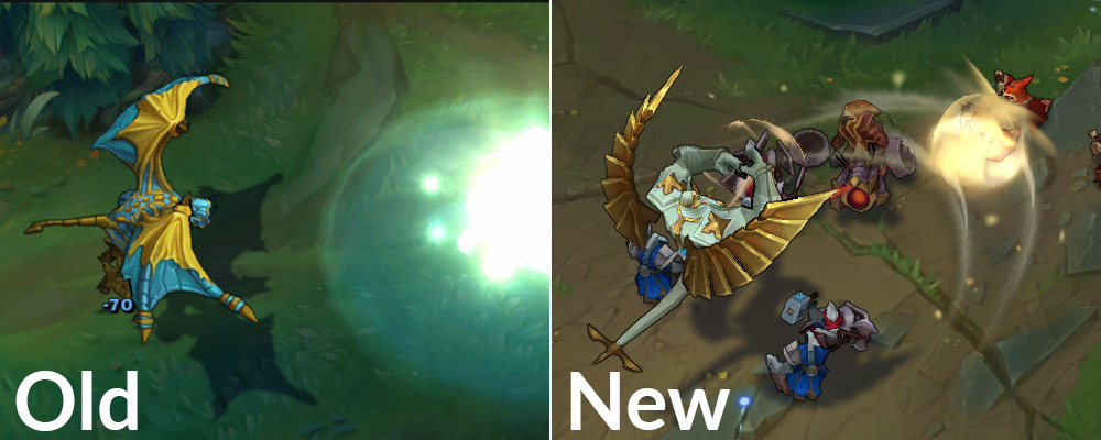 Galio rework old and new