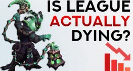 is league of legends dying