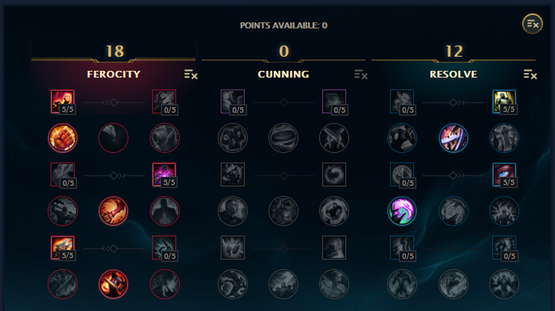 masteries for jax