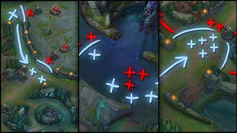 league of legends strategy map