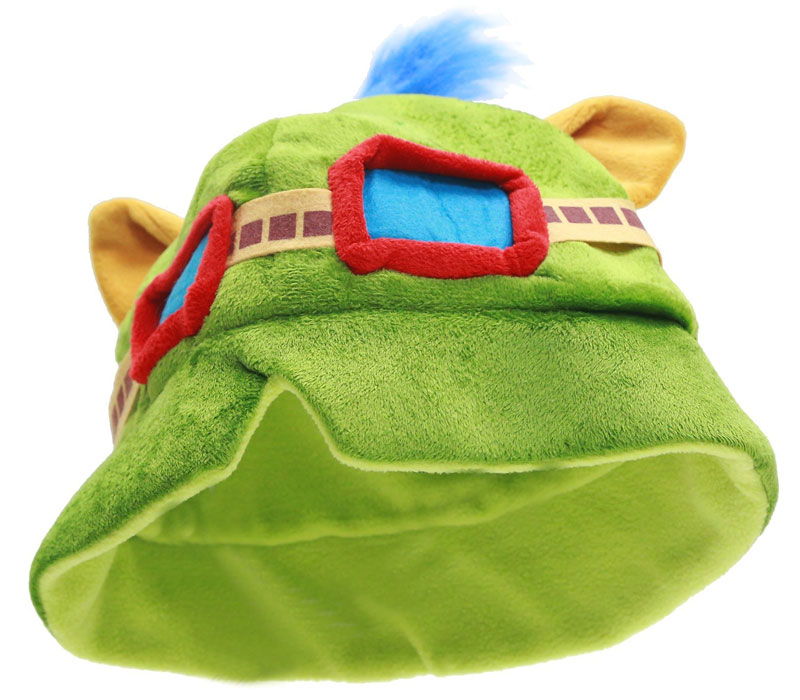Teemo hat with goggles
