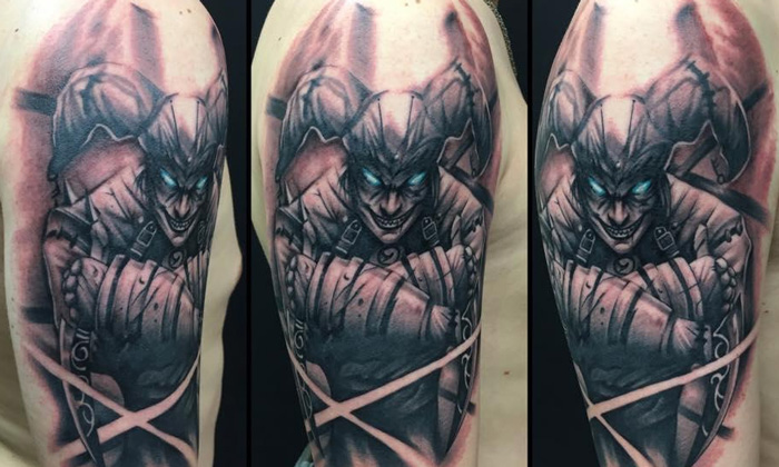 shaco tattoo