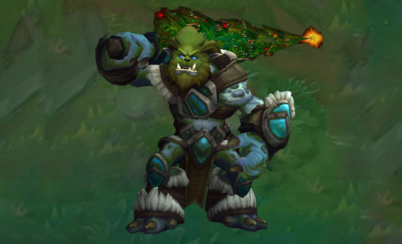 grinch trundle