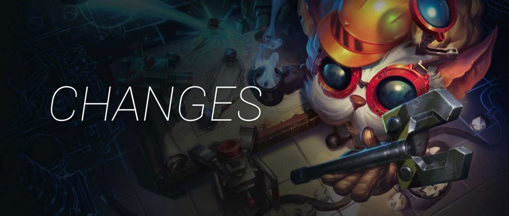 lol changes heimerdinger lol