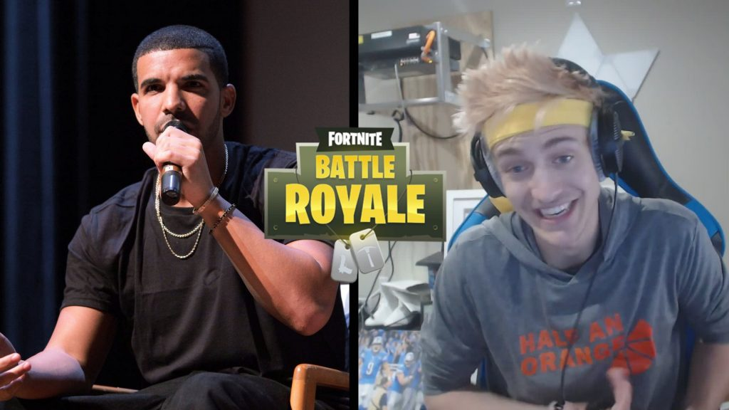 ninja and drake duo fortnite