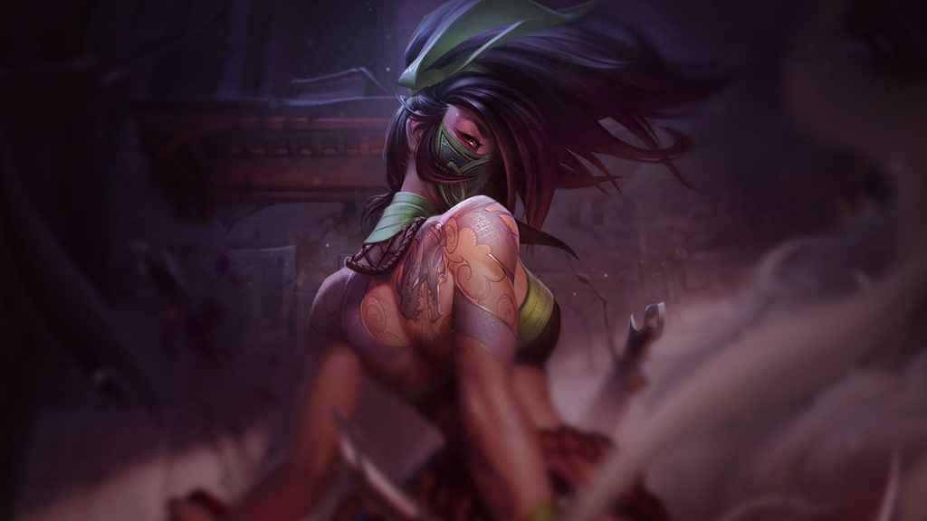 experienced champion for lol players akali